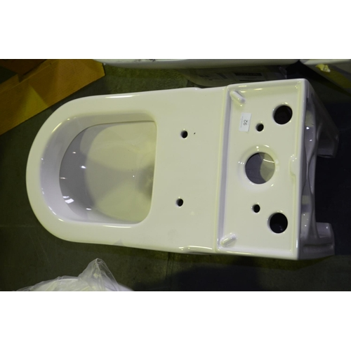 92 - toilet with no cistern...