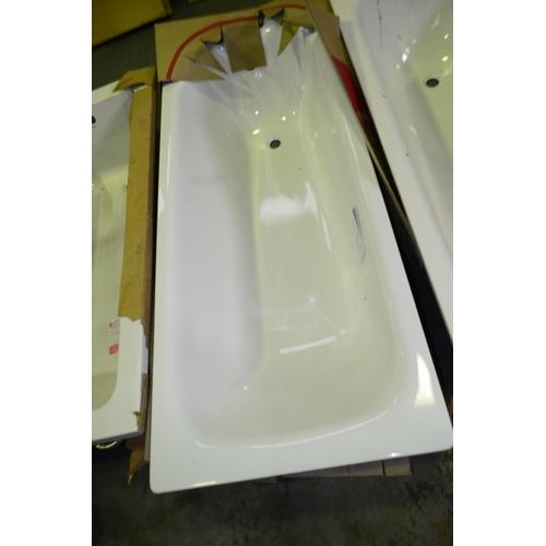 110 - straight cast iron bath rrp £140...