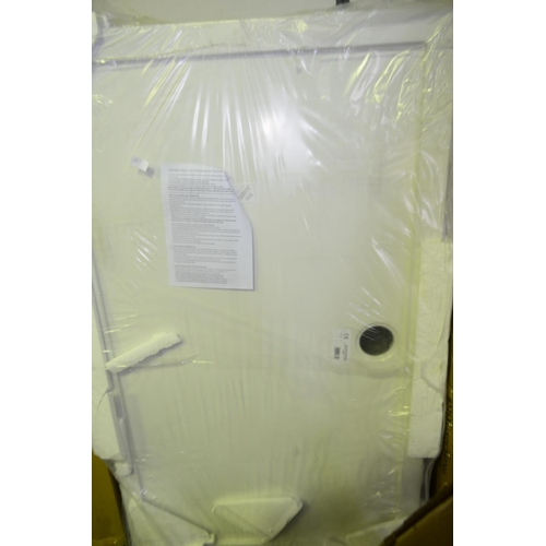 147 - 1500 x 900mm shower tray rrp £200...