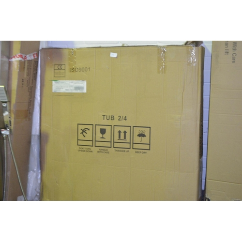 149 - 900mm rounded shower tray rrp £120...