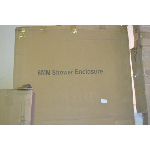 155 - 6mm   760x 1850mm shower enclosure rrp £150...