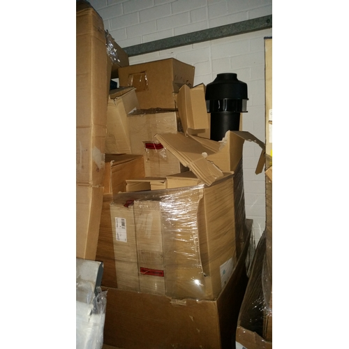 173 - one pallet of over 20 straight flues approx value £2000...