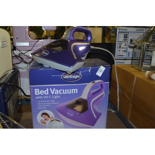 45 - SILENTNIGHT BED VACUUM RRP £50...