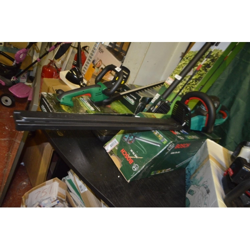 236 - BOSCH AHS 70 34 HEDGE TRIMMER RRP £145...