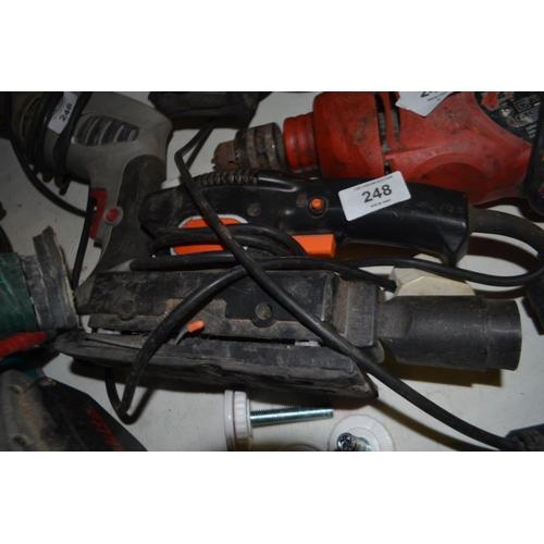 248 - ELECTRIC SANDER...