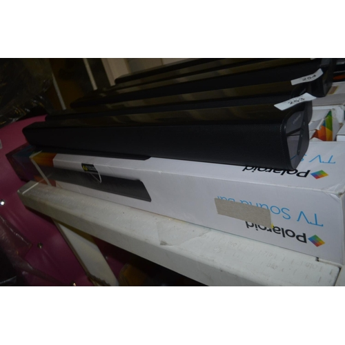 257 - POLAROID BLUETOOTH SOUNDBAR...