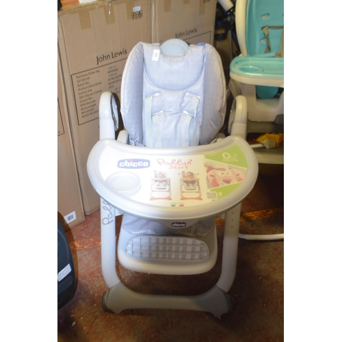 302 - CHICCO POLLY HIGH CHAIR RRP £130...