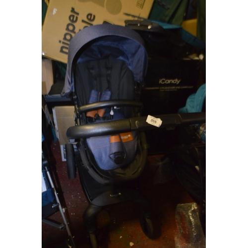 305 - CUGGL 360 SWIVEL PUSHCHAIR RRP £200...