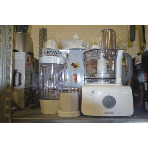 381 - KENWOOD MULTI PRO FOOD PROCESOOR...