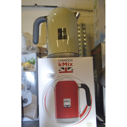 382 - KENWOOD KMIX KETTLE RRP £65...