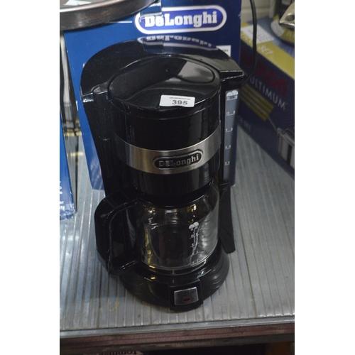 395 - DELONGHI FILTER COFFEE MACHINE...