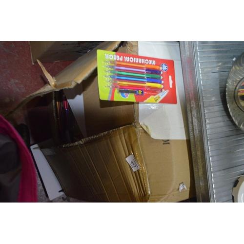 417 - FULL BOX OF 150 PACKS OF MECHANICAL PENCILS...