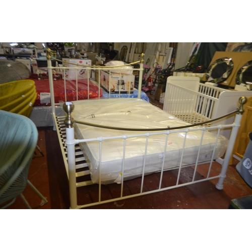 458 - DESIGNER JAYNE KINGSIZE  BED RRP £340...