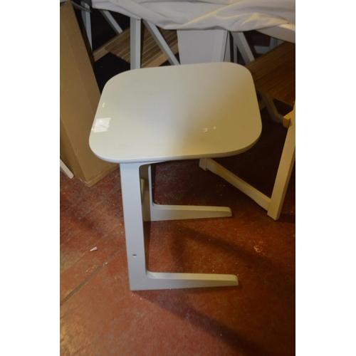 460 - DESIGNER SIDE TABLE RRP £65...