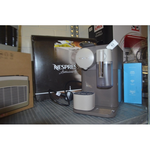 63 - DELONGHI NESPRESSO LATTISSIMA ONE COFFEE MACHINE RRP £220...