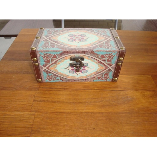 10 - Wooden Jewellery Box...