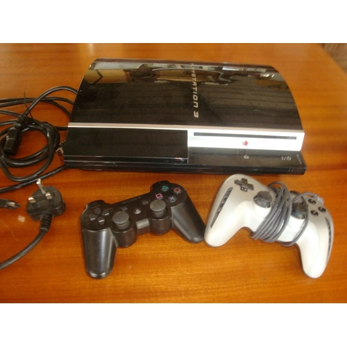 11 - Sony Playstation 3 with Accessories...