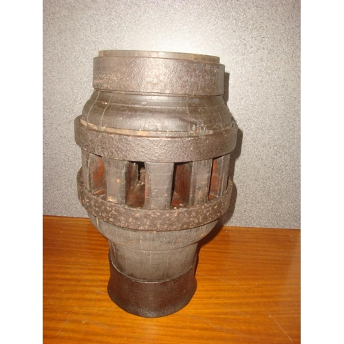 3 - Antique Port Side Ship Lantern...