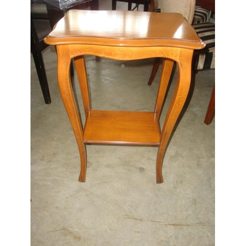 23 - 2-Tier Side Table...
