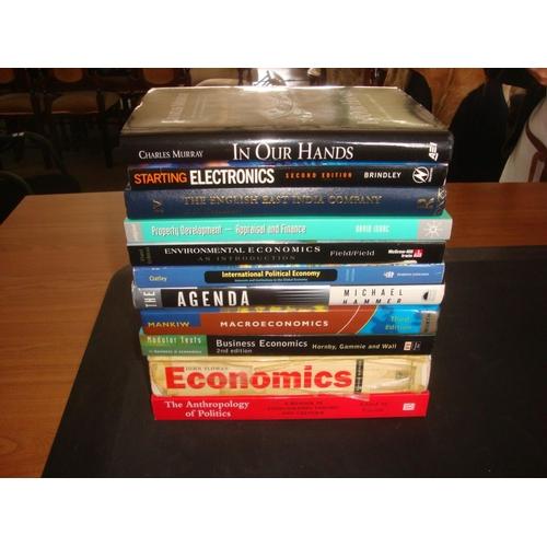 39 - x12 Politics & Economics Books...