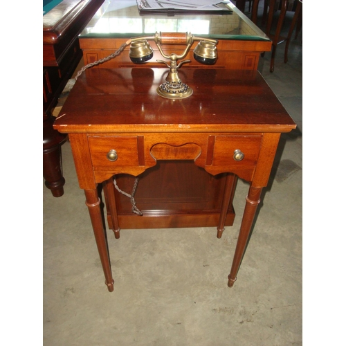 2 - Vintage Rotary Dial Telephone Table...