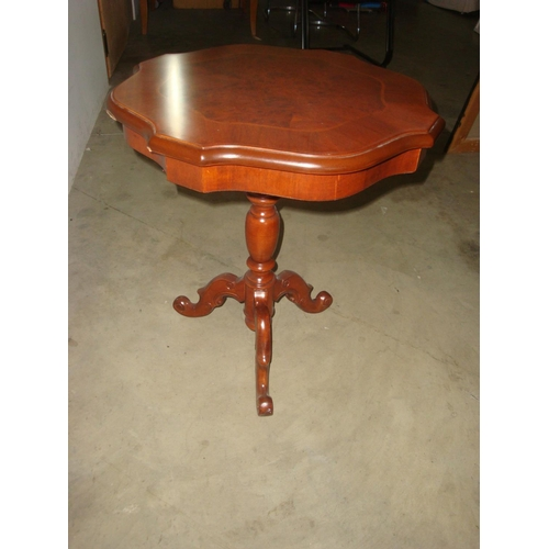 11 - Louis Style Marquetry Inlaid Coffee Side Table...
