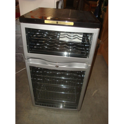 28 - Tredia Dual Zone Wine Cooler...