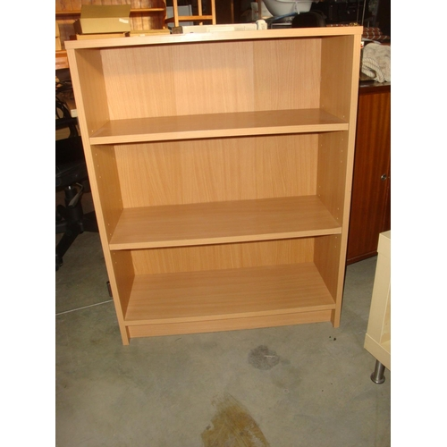 34 - Wooden Bookcase...