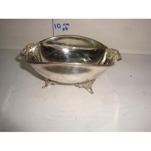 52 - Vintage Cypriot Silver 830 Bonbon Dish (88gr)...