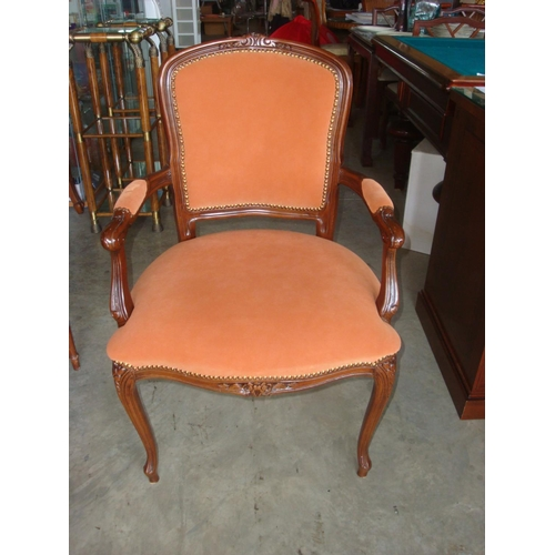 4 - Louis Style French Armchair...