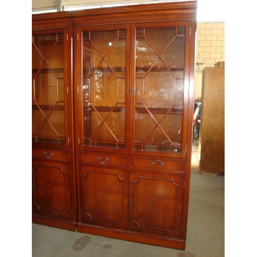47 - Double Door Regency Style Library/Display Cabinet...