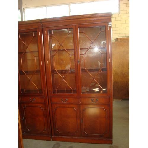 58 - Double Door Regency Style Library/Display Cabinet...