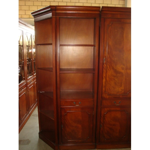 56 - Tall Bookcase Display Cabinet...