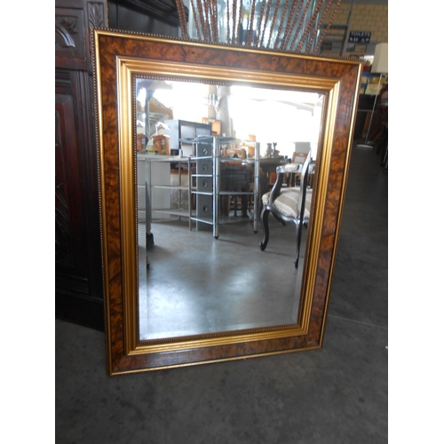 7 - Antique Style Beveled Mirror...