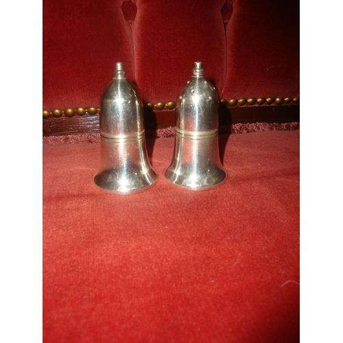 28 - EPNS Sheffield Salt & Pepper Condiments...