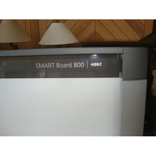 3 - Smart Interactive Board 800 DViT Communication Equipment with Projector and Speakers (RRP 2344 USD)-...