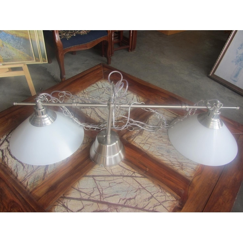 13 - 2 Lamp Ceiling Hanging Light...
