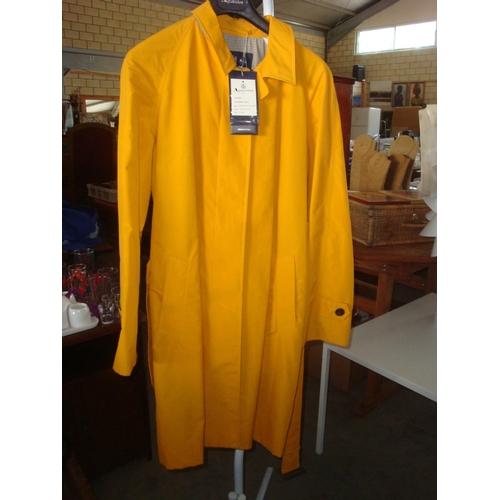 14 - New Pencraig SHT Raincoat Marigold Size 12 (Unused)...