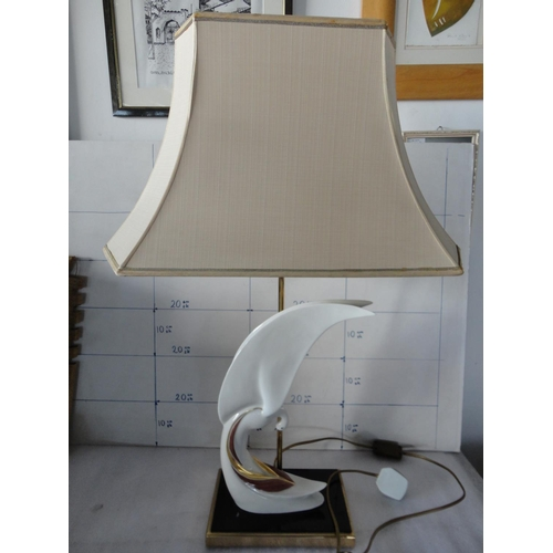 26 - Porcellana Italia Porcelain Table Lamp...