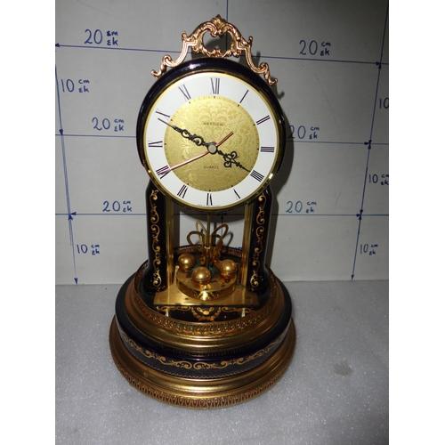 47 - Hettich Quartz Vintage Hand Made Anniversary Clock (Untested)...