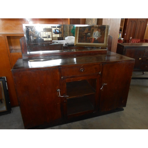 46 - Antique/Vintage Dressing Table with Mirror...