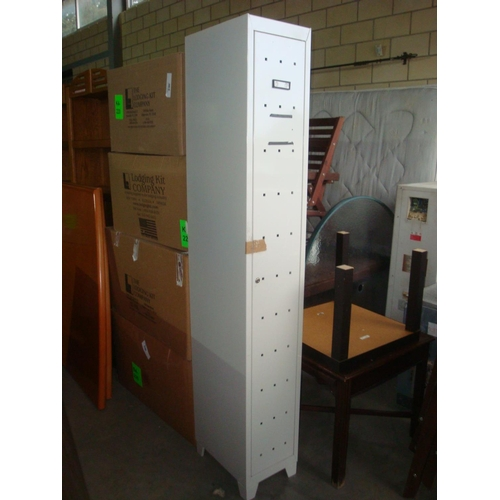 55 - Metal Locker Cabinet-Code N/A...