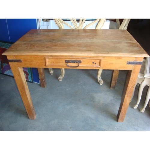 6 - Antique Solid Wood Office Desk Bureau...