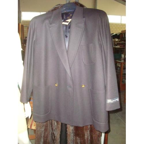 12 - Burberrys Ladies Wool Hansom Blouse Size 14 Reg. (Unused) (E)...