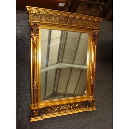 14 - Vintage Highly Ornate Mirror...