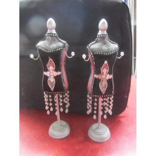 50 - x2 Oriental Look Jewelry Display Stands...