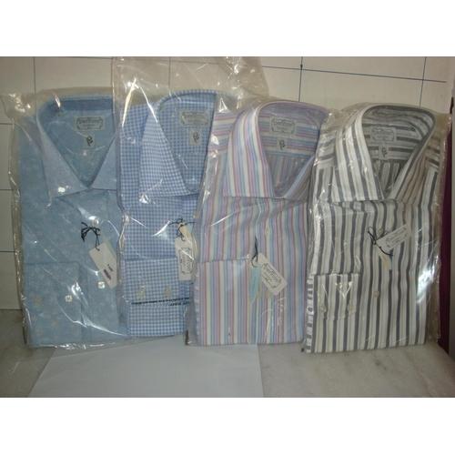 48 - x4 Penrose London Mens Formal Shirts Size 41 (Unused)...
