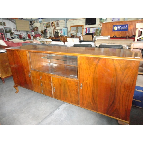 26 - Antique Large Buffet Unit (224 x 57 x 100 Height)...