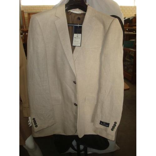 2 - Aquascutum London Mens Pritchard BGY Jacket Colour Oatmeal Size 44 Reg. (Unused) (I)...