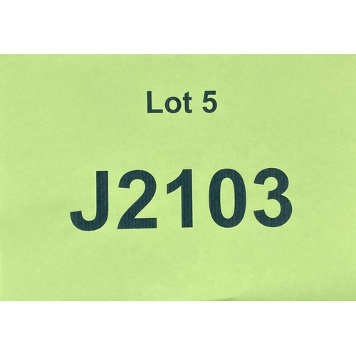 5 - J2103 - a four digit Jersey registration mark (purchaser must be ordinarily resident in Jersey C.I.)...
